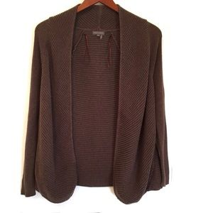 Vince Camuto Brown Cardigan Size PXS